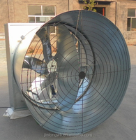 1400mm Shandong Jinlong Poultry/Industry/Greenhouse Butterfly Type Cone Exhaust Fan with CE