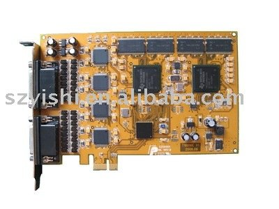 PCI Express Type 16ch Real Time DVR card, H.264 Hardware Compress, SDK available