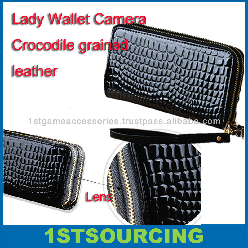 Lady Wallet Hidden Cameras , camera bag