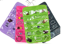 Hanging style PVC jewelry accessories storage organizers