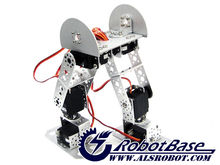 AS-6DOF biped robot/battery operated educational robot(without electric control)robots humanoids