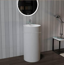 decorative mirror frame Solid Surface Stone Bathroom Mirror Frame, freestanding wash basin,hand wash basin with pedestal