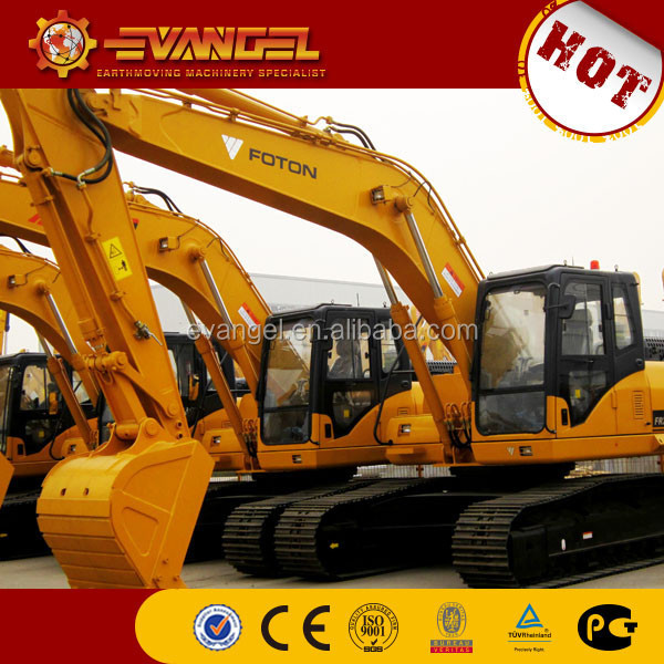 prices of excavator FOTON LOVOL FR220 long boom excavator for sale