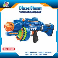 ZC Factory!!!hot new invention electronic plastic airsoft pistol nerf gun wholesale toy tommy gun new air soft guns adult