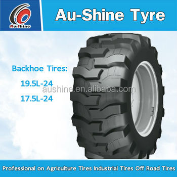Aushine Agriculture backhoe tyre 17.5-24