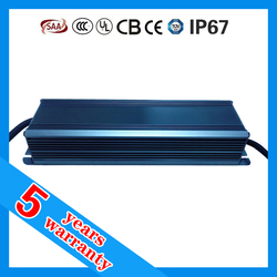 5 years warranty CE ROHS TUV SAA ETL approved 12vdc 75 watt dc 12 volt waterproof LED driver IP67 12V 75W