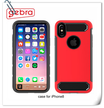 2018 Good heat resistance and low temperature resistance phone case cover for iphone 8