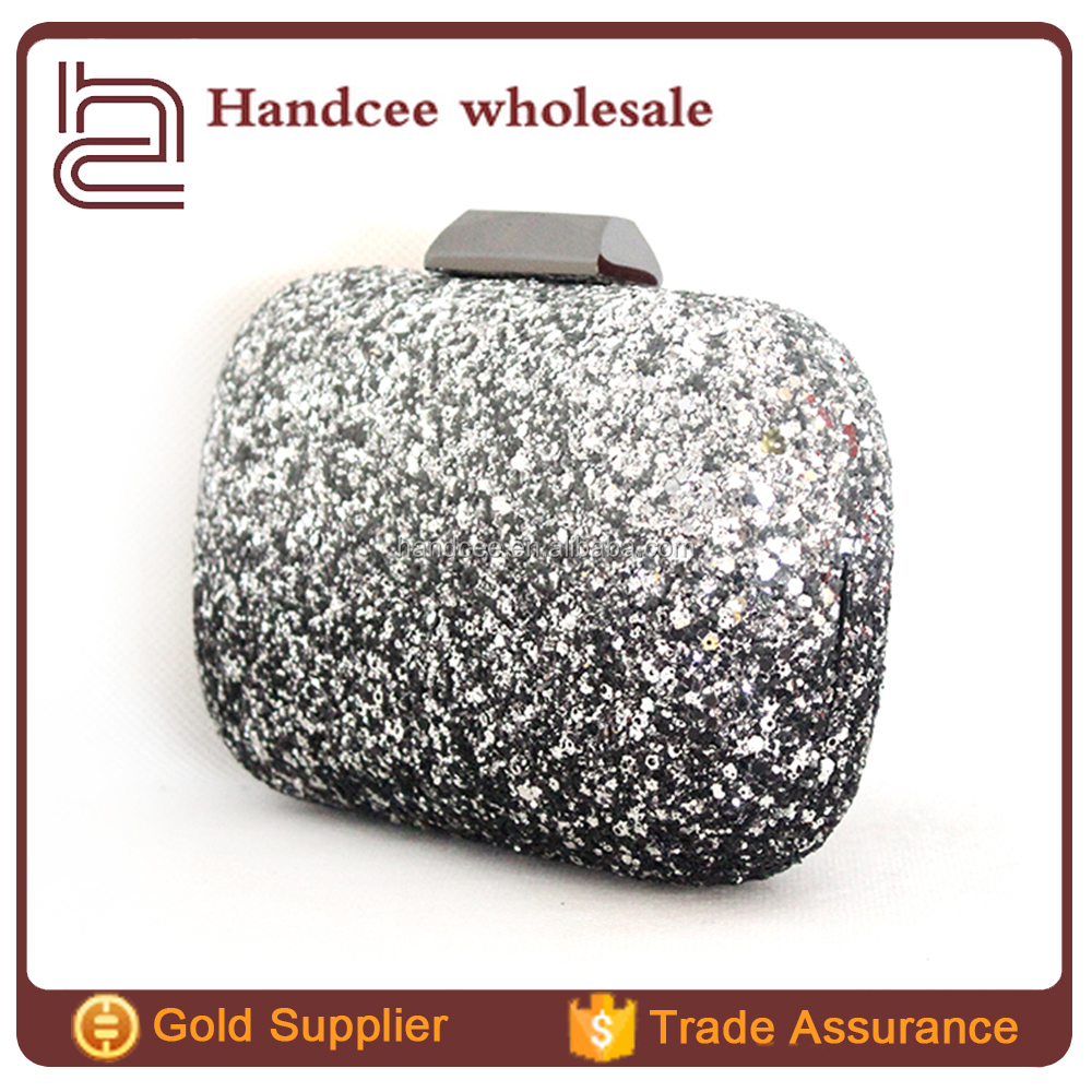 Perfect wedding party excellent quality shining stone clutch bag
