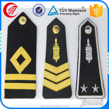 custom shoulder epaulets for military uniform in low price