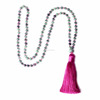 Hand Knotted Mala Beads 6mm Ruby