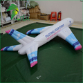 Commercial Airplane Model / Advertising Inflatable Helium Airplane Balloon for Sale