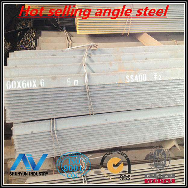 Hot selling angle steel ASTM steel angle bar iron and steel company