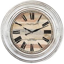 Home decoration modern round clock modern wholesale seaign wooden wall clock