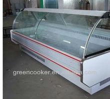 refrigerated produce display cooler