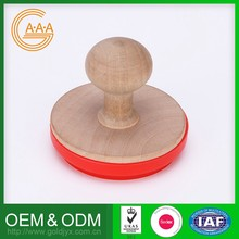 Factory Direct Price Non-Toxic Custom Design 100% Warranty Silicon Rubber Cookie Stamp