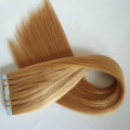 Factory Customzied Virgin Remy Hair Double Drawn Tape Hair Extensions