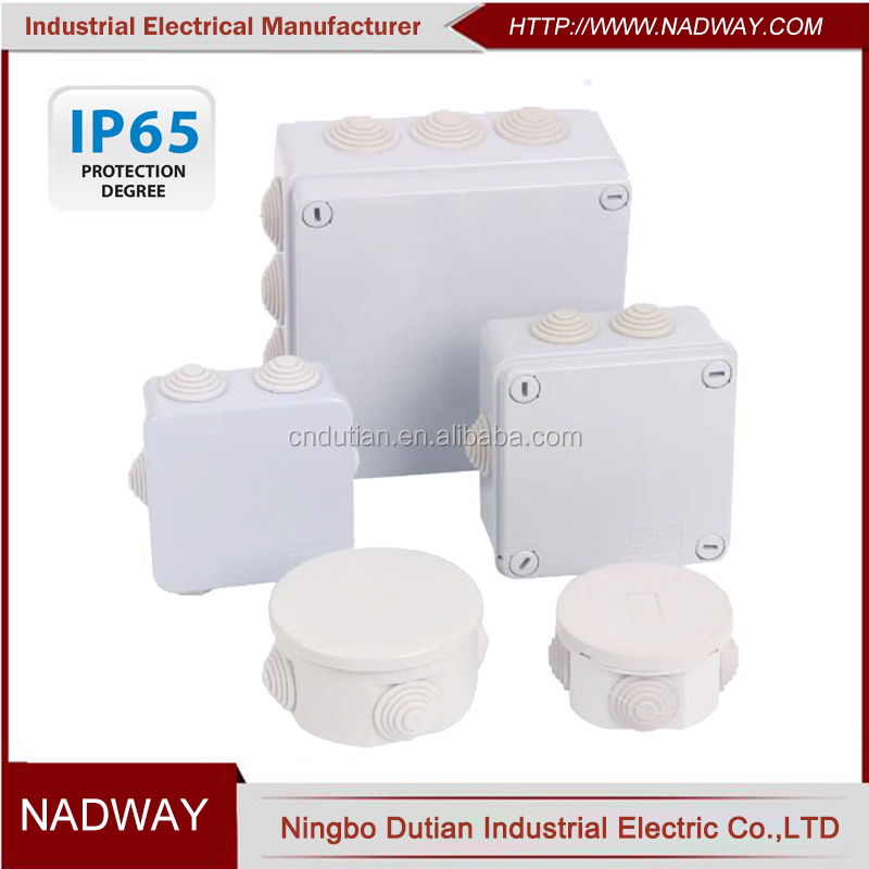 ip65 plastic abs waterproof electrical junction box