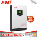 < MUST>Pure sine wave USB Hybrid Solar Power Inverter off Grid 2400W solar inverter