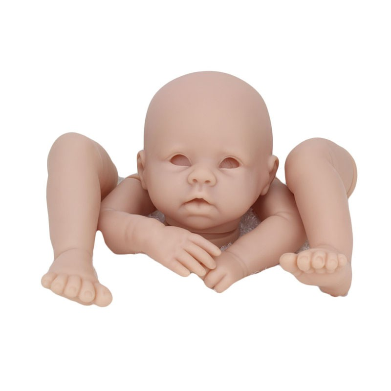 Wholesale vinyl dolls body parts 22inches soft silicone vinyl baby reborn doll kits