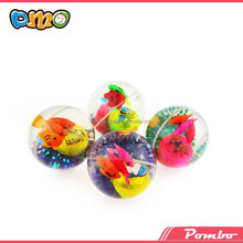 Rubber led bouncing ball with flashing light Jumping Water Ball