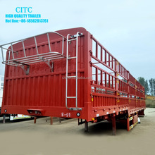 CITC brand side wall semi trailer side panel of livestock trailer