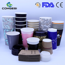 Coffee paper cups_disposable single wall coffee paper cups_logo printing coffee paper cups