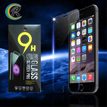 Alibaba China dropship 9H tempered glass screen protector for iPhone 6 tempered glass