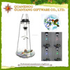 solar bird feeder lantern light window bird feeder