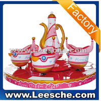 LSJQ-020 6 seat coffee cup crazy selling and good quality kiddy rides wending game machine for game cenrer sale