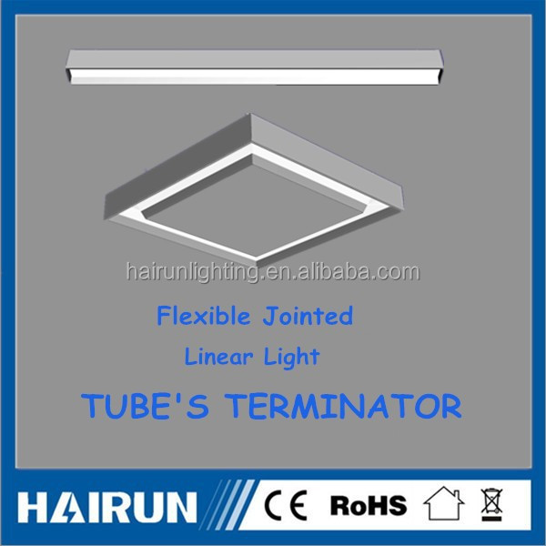 300-2000mm Square cross shape linear light list of manufacturing company