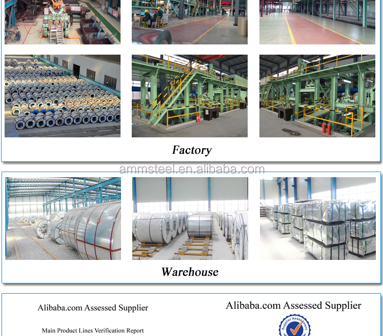 AMM STEEL BRAND on alibaba for selling many types of roofing sheet