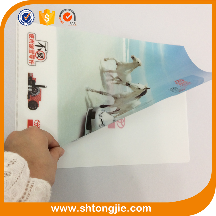 china supplier offset printing hard document cheap clear a4 pvc plastic envelope bag