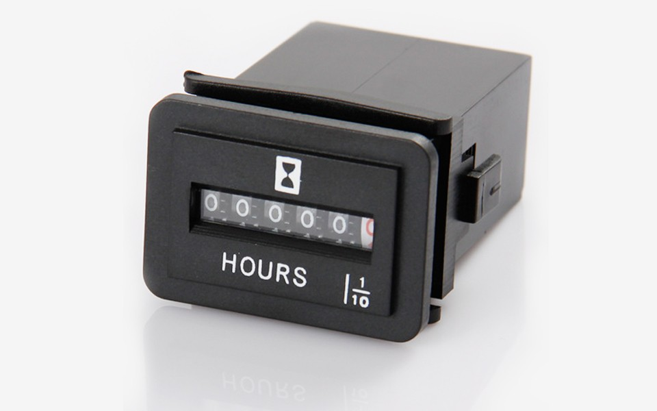 Mechanical Hour Meter Engine Running Hours Counter