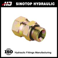 (2BJ-WD) hydraulic bsp male and jic female 74 degree seat tube fitting