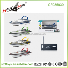 Mini Wireless 4 channel remote control boat kids Rowing RC boat toys games made in China