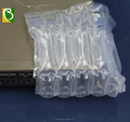 inflatable transparent air tight eco - friendly 150 micron plastic air cylinder bag packaging for TV