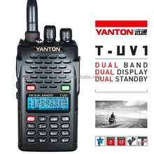 Dual Band walkie talkie full duplex(YANTON T-UV1)