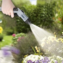 multi power pressure wash spray nozzle, with pressure pump - rechargeable battery - large water tank