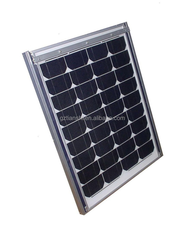 Factory A grade 3W to 350W blue ad black poly mono solar panel