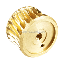 Copper Casting Worm Gear Wheel/Brass Bushing
