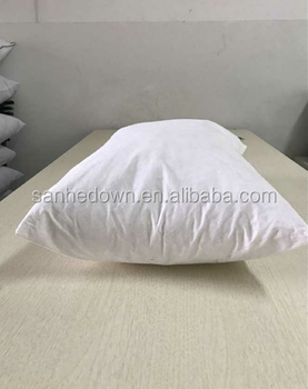 Cushion manufacturer wholesale 2-4cm white or grey duck feather fill rectangular back cushion