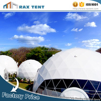 Popular Sale building glass dome tent