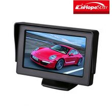 "2016 Hot sale 4.3"" 16:9 TFT LCD car monitor with CE,RoHs,FCC"
