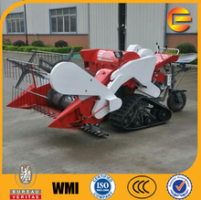 new design and best price tractor mounted rice paddy combine harvester