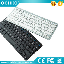 2017 New Coming slim mini 2.4ghz wireless bluetooth keyboard for ipad phone PC