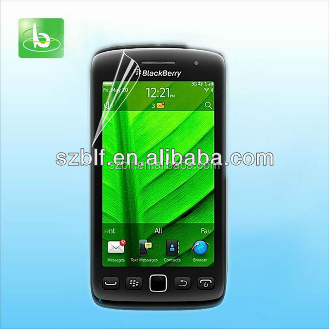 PET anti glare screen protective film for Blackberry Storm 3