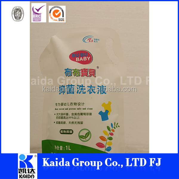 liquid detergent filling china wholesale merchandise high quality pouches for spices liquid packaging bag