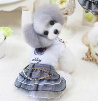 Newest comfortable first class fido spring summer wholesale dog clothes