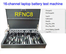 OEM smart battery charger station with software and charge discharge test functions