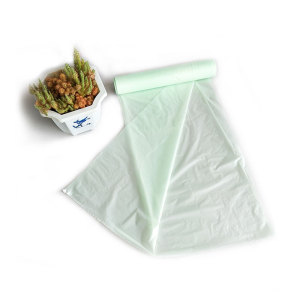 flat garbage bags in-roll plastic bags compostable Cheap recyclable bags wholesale color printed compostable